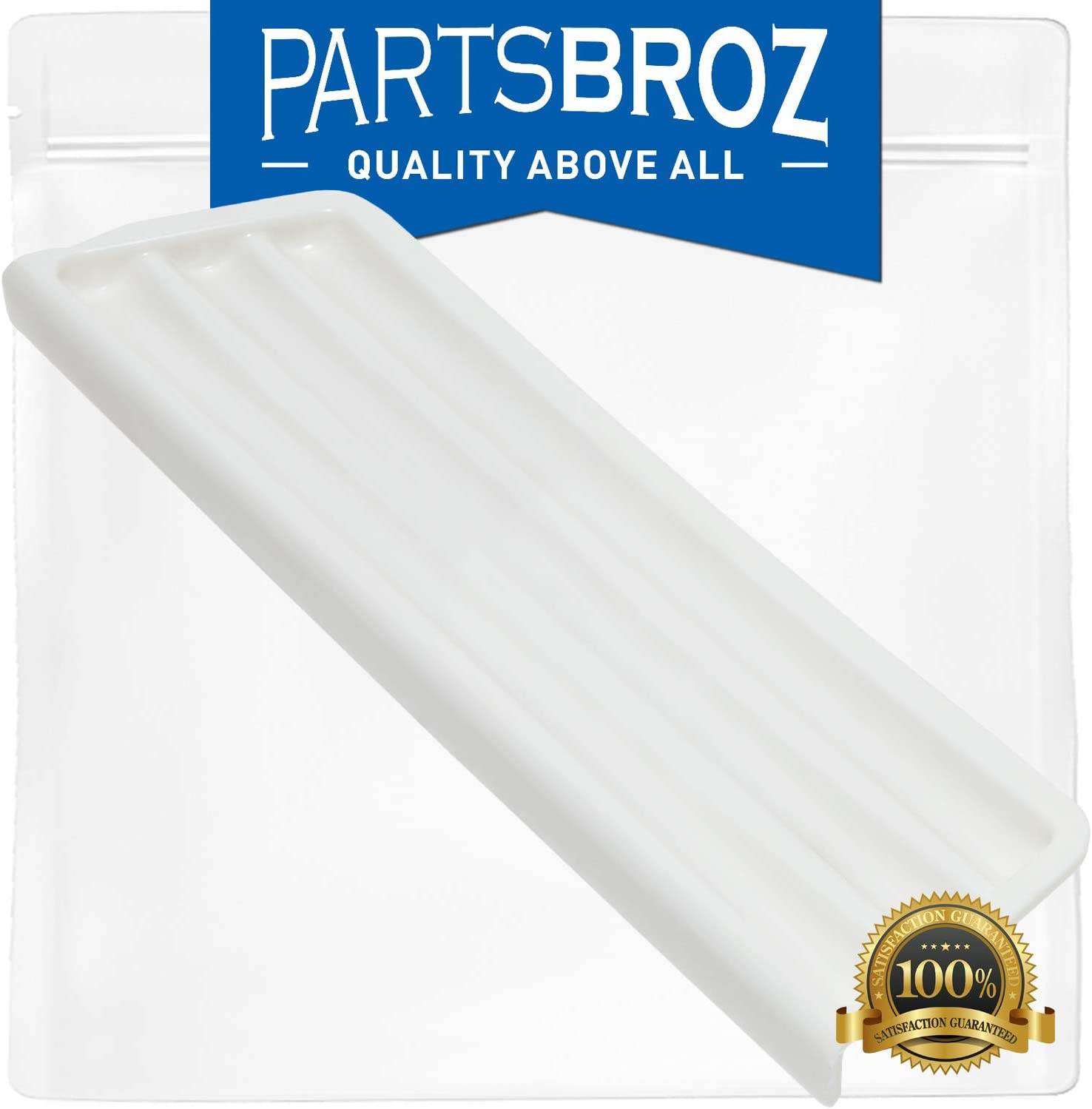 2206670W Dispenser Overflow Grille by PartsBroz - Compatible with Whirlpool Refrigerators - Replaces WP2206670W, AP6006549, PS11739625, W10189531, W10323445
