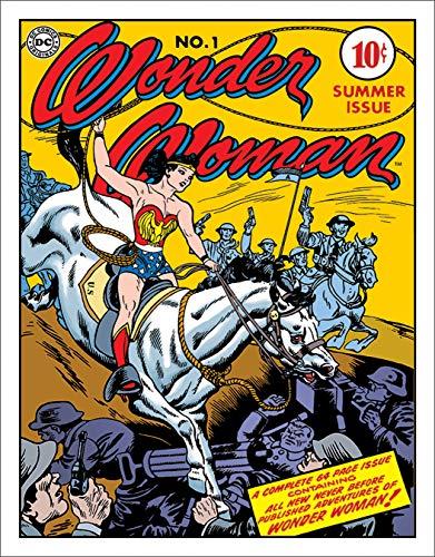 - Desperate Enterprises Wonder Woman - Cover No.1 Tin Sign, 12.5