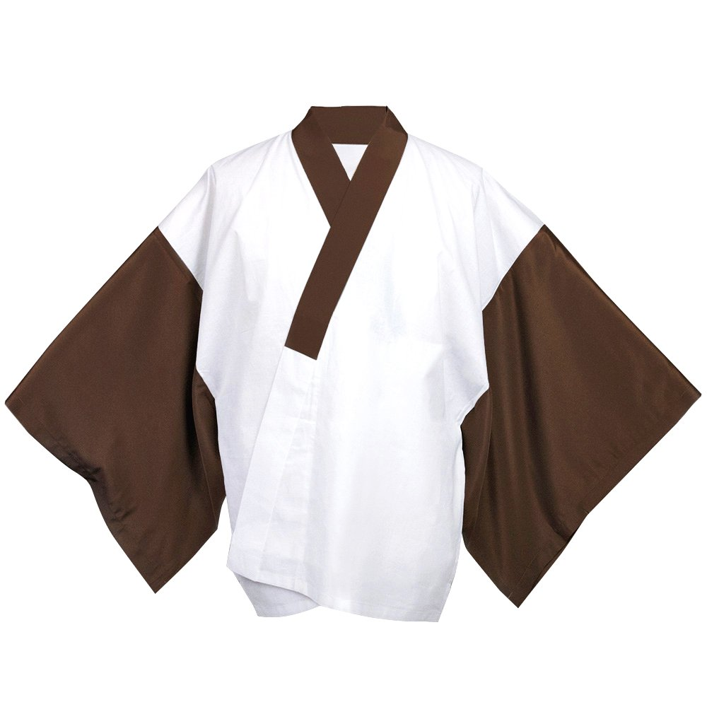 KYOETSU Men's Japanese Kimono Undergarment Short Type Hanjuban