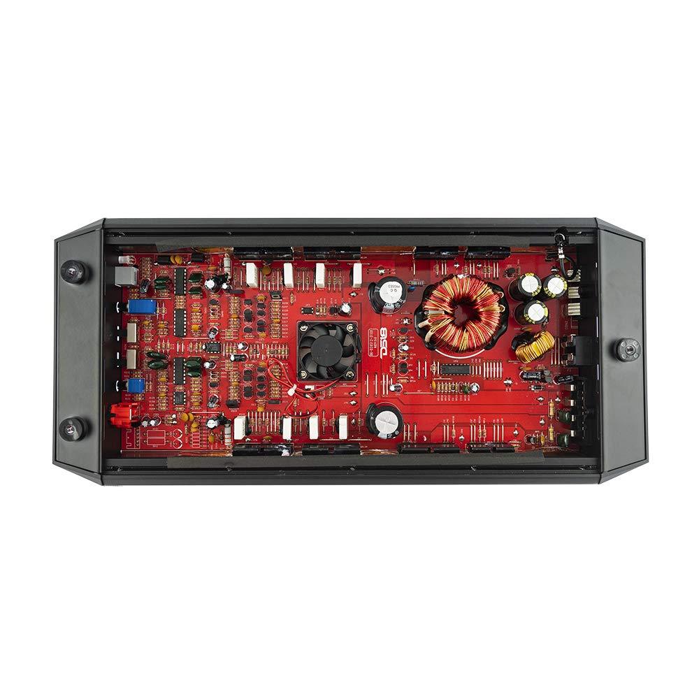 4 Ohm Stable Class A//B Mono Car Amplifier with Remote Subwoofer Control DS18Sound Automotive Dummy vendor code for NIS DS18 GEN-X800.2D Full Range Bridgeable 2-Channel 800w Peak//120w RMS @ 2 Ohm CEA Compliant 2