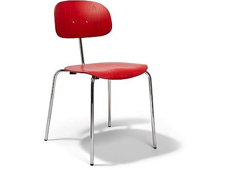 Buche aus Modulor Stuhl Stahlrohrstuhl 118stapelbarer CedBox