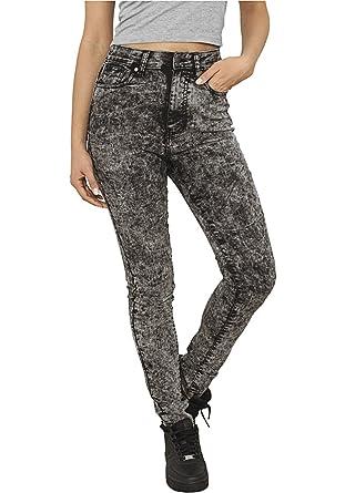 Urban Classics Ladies High Waist Denim Skinny Pants TB956