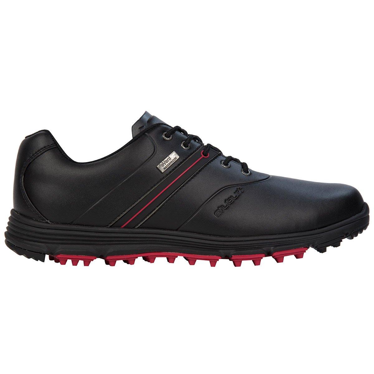 Stuburt 2018 Vapour eVent Waterproof Spikeless Lightweight Mens Golf Shoes B01MR6ZT14 12 UK/ EUR 47 / US 13|Black