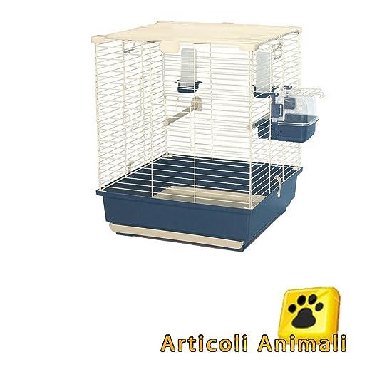 4 opinioni per Gabbia per uccelli tecla 52x52x64h con cassetto estraibile