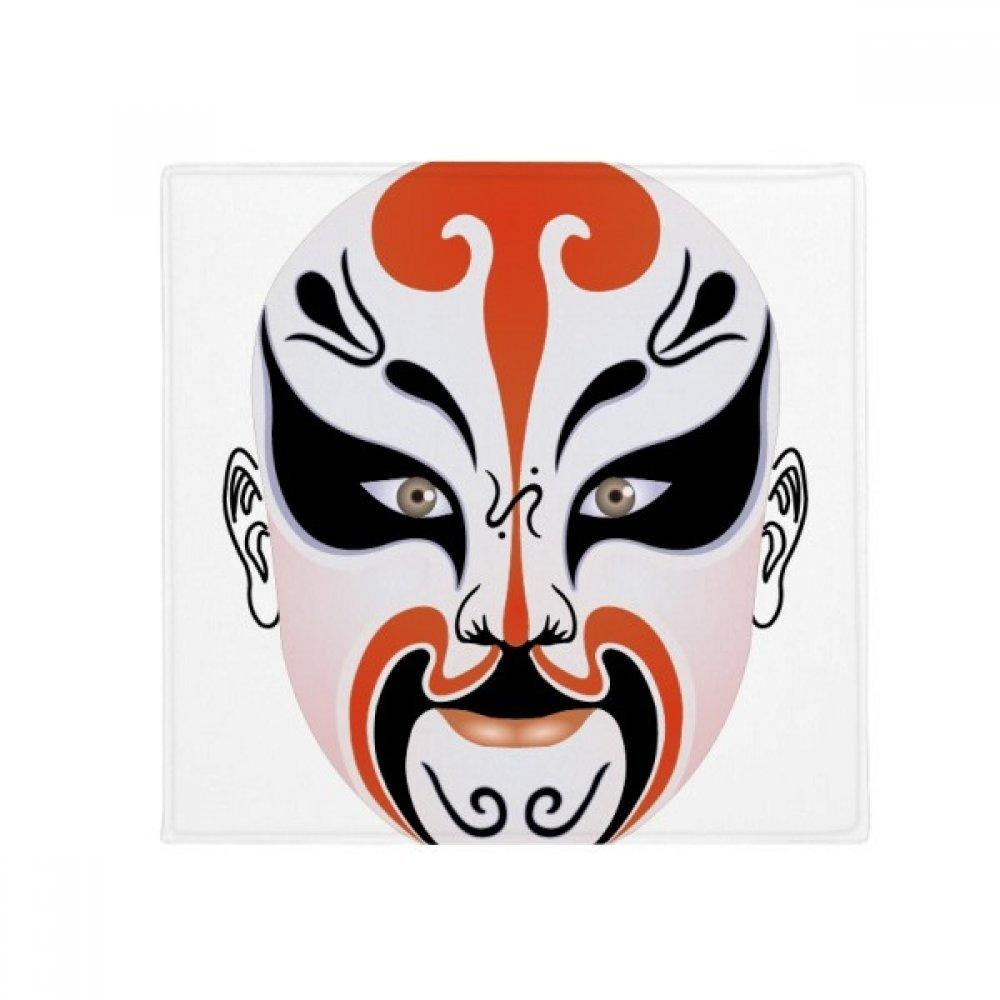 DIYthinker Peking Opera Mask colorful Mukezhai Anti-Slip Floor Pet Mat Square Home Kitchen Door 80Cm Gift