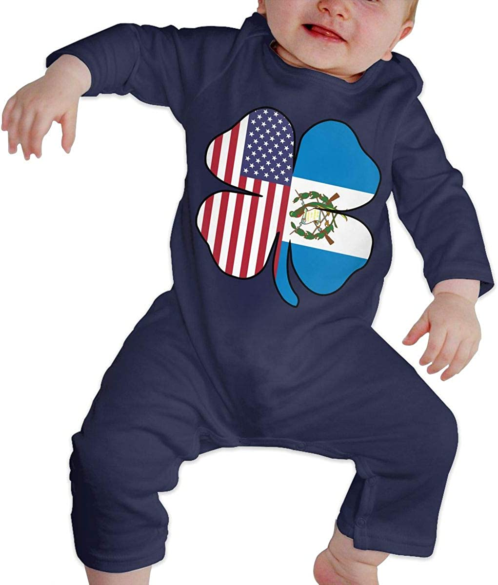 Mri-le1 Toddler Baby Boy Girl Organic Coverall Sea Turtle Hawaii Heart Baby Rompers