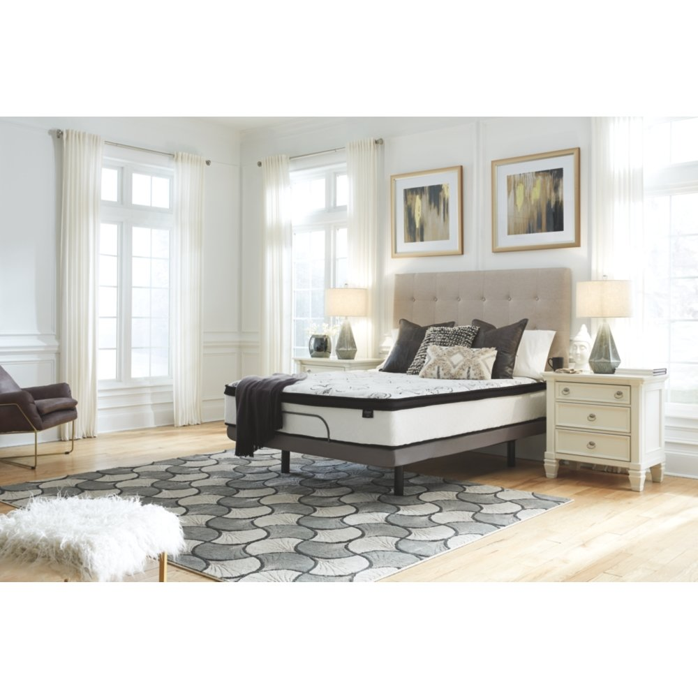 Ashley Furniture Signature Design - 12 Inch Chime Express Hybrid Innerspring - Firm Mattress - Bed in a Box - Queen - White by Signature Design by Ashley (Image #8)