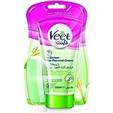 Veet Hair Removal In-Shower Cream Dry Skin 150ml