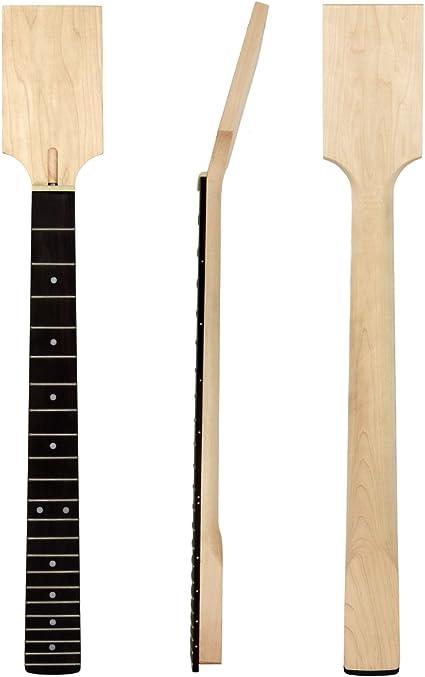 Kmise - Cuello de guitarra eléctrica para LP cuerpo de arce de ...