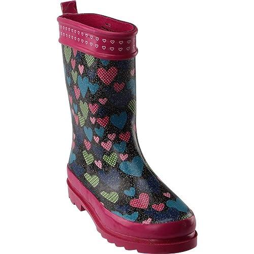 3b52ccc3c38 Amazon.com: Triple T Womens G Glitter Hearts Casual Boots: Shoes