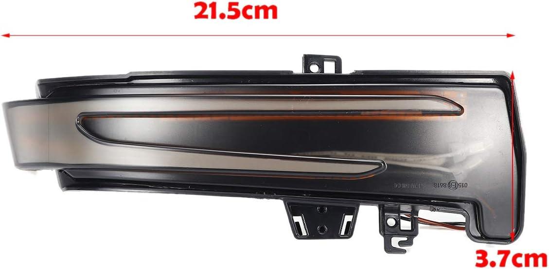 Adanse Car Flowing Turn Signal Light Side Wing Rearview Mirror LED Dynamic Indicator Blinker for Mercedes a B S C E GLA GLK W176 W246 W212 W204 C117 X156 X204 W221 W218
