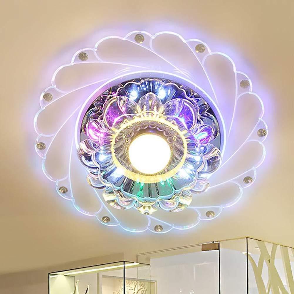 Moderne LED Pandent Licht Kristall Led Downlight Spot Light Einbau LED Lampe Luminarias für Hausgang Flur Kücheneinrichtungen mehrfarbig