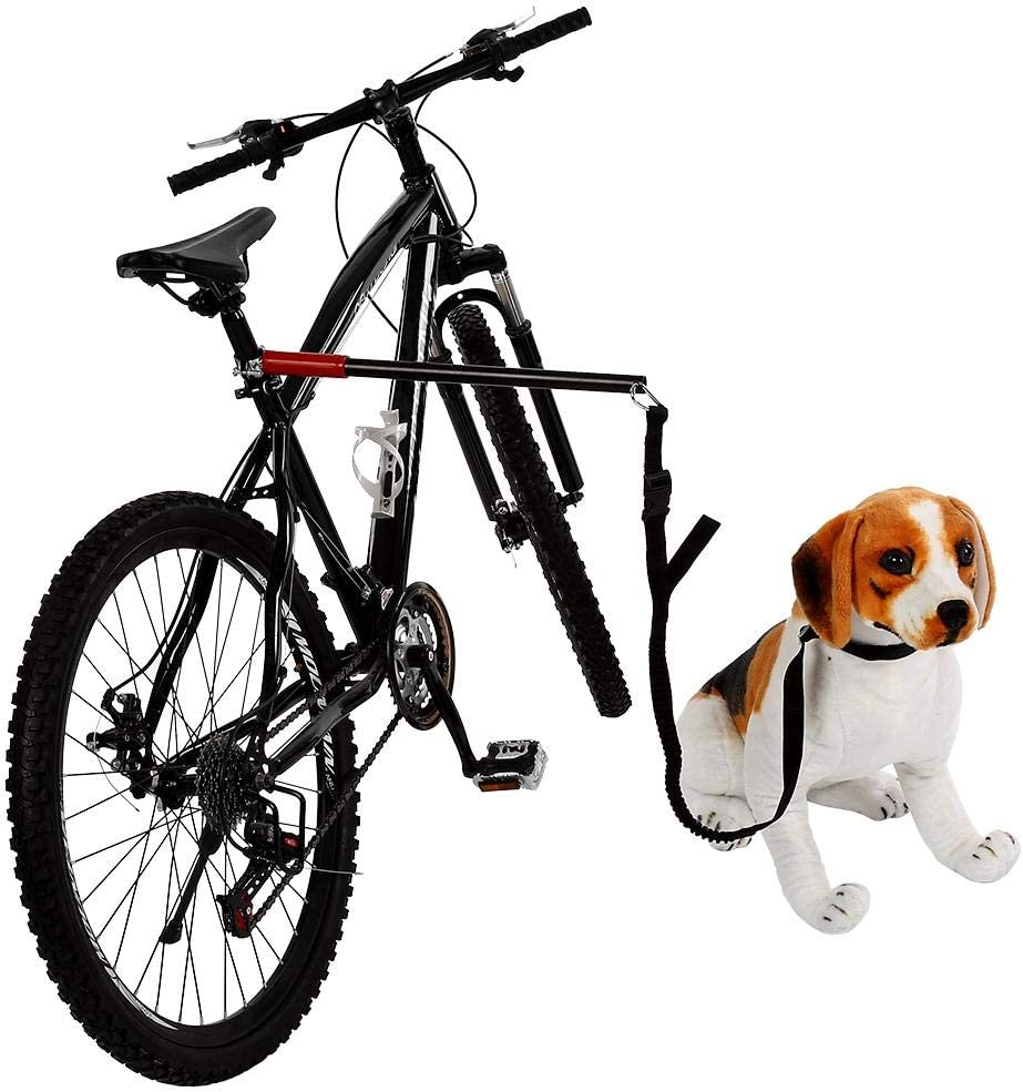 Dog Bicycle Traction Belt Pet Bike Exerciser Leash Attachment Hands Free Taidda 【Year-end Promotion】 Pet Bike Exerciser Leash