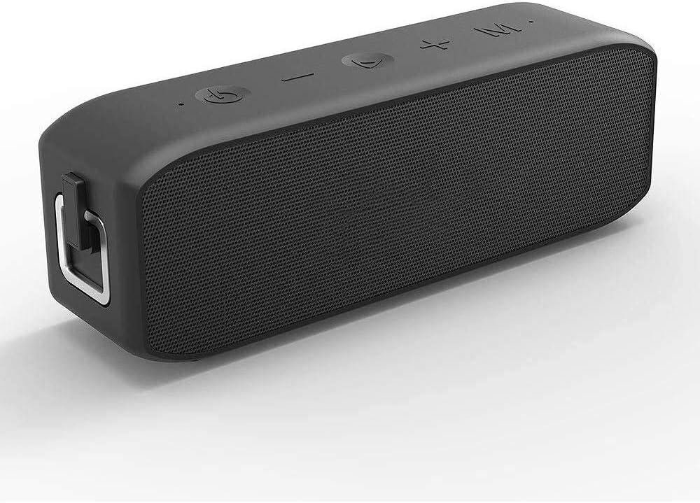 KJRJLY Multifunción altavoz de Protable Bluetooth, Bluetooth 5.0 impermeable al aire libre, estéreo de sonido envolvente, Deep Bass, Manos libres llamada altavoz de la tarjeta del TF, 8-10 horas Durac