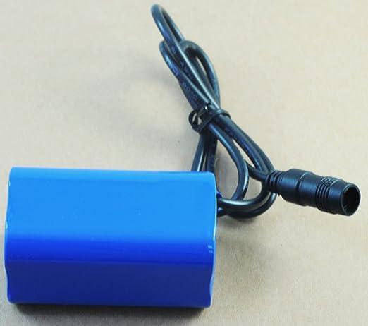 73 opinioni per QUMOX Led Lampada 6400mAh 8.4v batteria XML-T6 LED lampada