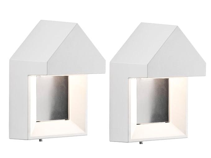 Konstsmide set di nobile muro leuchten cosenza bianco watt