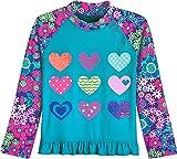 Coolibar UPF 50+ Baby Girls' Ruffle Swim Shirt