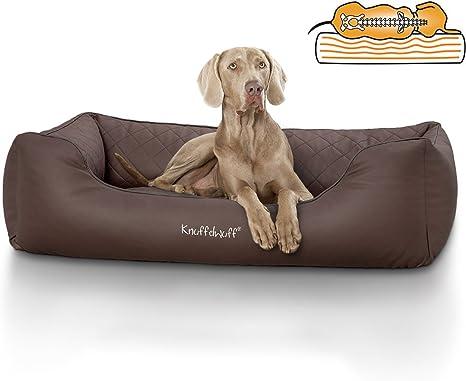 Knuffelwuff Madison - Cama ortopédica para perros, piel sintética ...