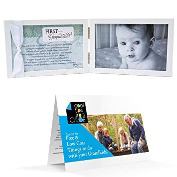Amazon.com : First Grandchild Poetry Frame for New Grandparents and ...