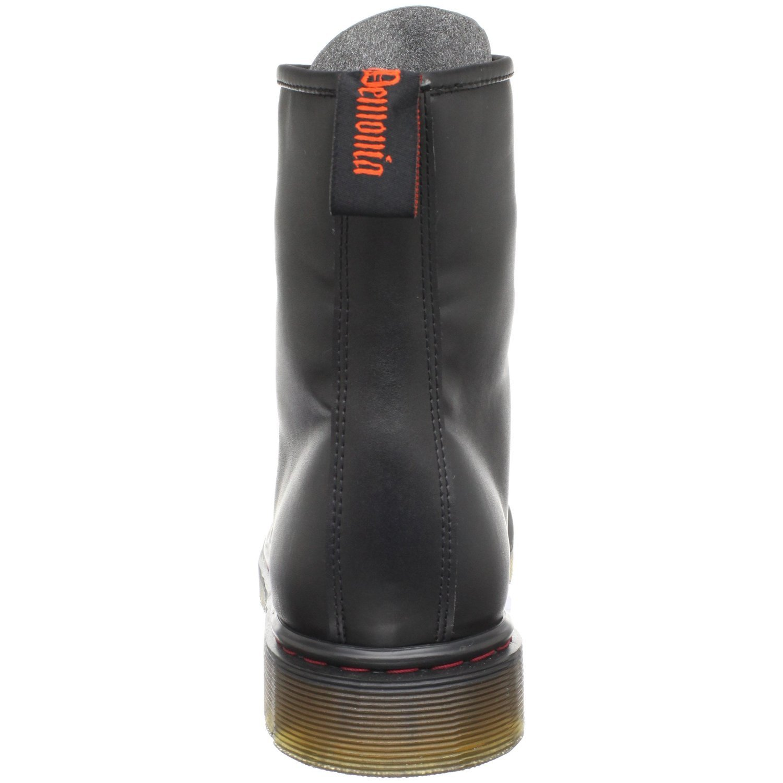 Demonia Veggie Mattschwarz Military Punk Boots Defiant-100 Mattschwarz Veggie ceb091