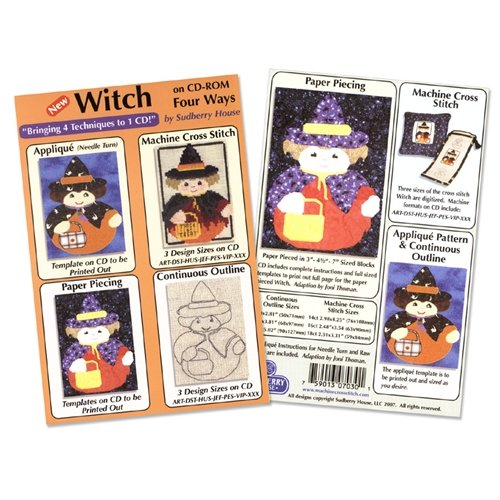 Witch Four Way Design CD By Sudberry