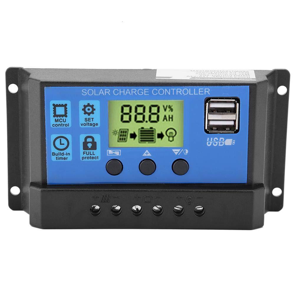 ALLPOWERS 20A Solar Ladegerät Controller Panel Batterie Intelligente Regler mit
