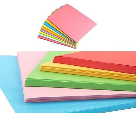 Colori Adatti Per Ufficio.Fogli Doppi Formato A4 Multiuso In Colori Pastello Adatti Per