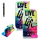 Moto G Case, OMIU(TM) [Printed Series] Premium PU Leather Stand Wallet Type Magnet Design Flip Case Cover Protector Fit For Motorola Moto G(RE), Sent Stylus