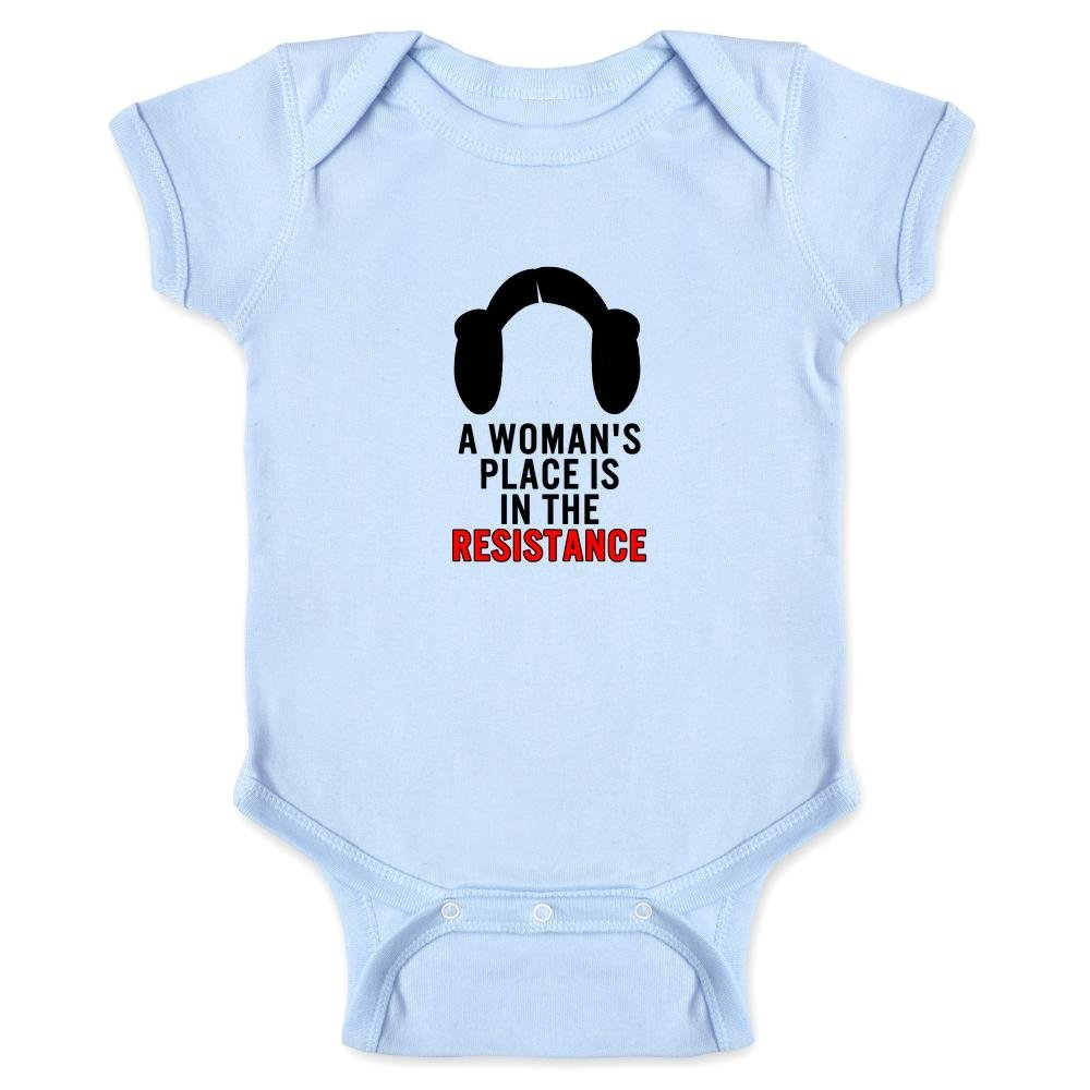 A Woman's Place Is In The Resistance Infant Bodysuit 1954-201