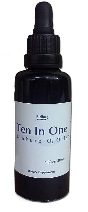 Amazon Com Biopure Ten In One O3 Oil Ozonated Olive Oil And