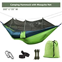 Deals on Ufanore Camping Lightweight Nylon Portable Hammock