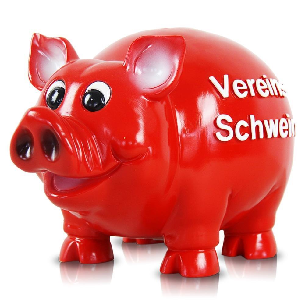 HC-Handel 915606 Sparschwein Riesen XL Vereins-Schwein Vereinskasse 30 cm