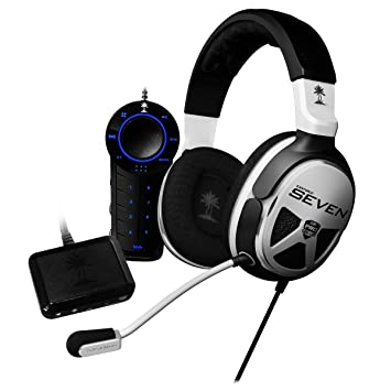 Turtle Beach Ear Force XP7 - Auriculares de diadema cerrados USB (control remoto integrado)