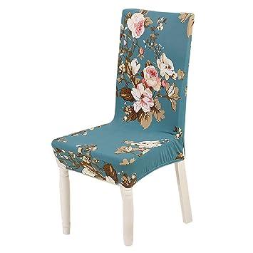 Funda para silla Diadia universal elástica de licra para comedor, banquete de boda, cubierta