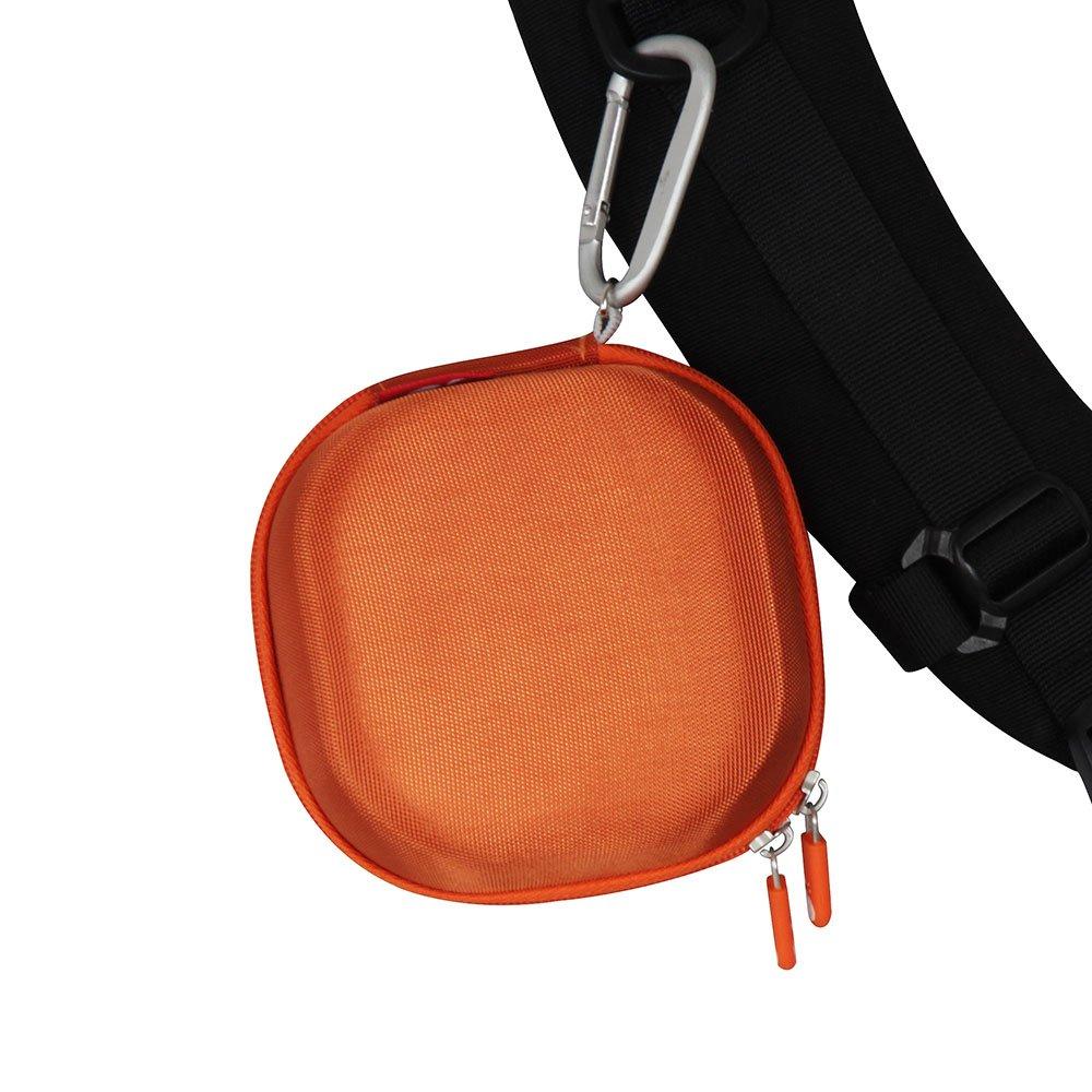 Hard EVA Travel Bright Orange Case for Bose SoundLink Micro Bluetooth Speaker by Hermitshell by Hermitshell (Image #5)