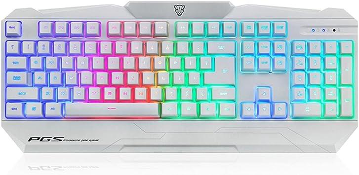 MANZIRON Motospeed K68L Gaming Keyboard colorido ...