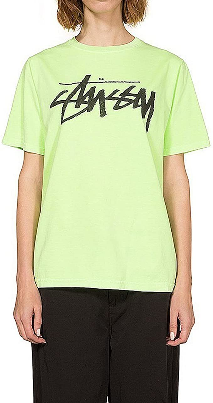 Stussy Camiseta Old Stock Pig. Dyed Verde Talla: S (Small): Amazon.es: Ropa y accesorios