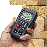 Wood Moisture Meter, RISEPRO Digital Moisture Meter 2 pins Wood Moisture Tester Water Content MT-10