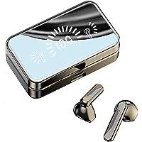 Fones de ouvido sem fio, fones de ouvido estéreo de alta fidelidade Bluetooth 5.2 com capa de carregamento de 2000 mAh…
