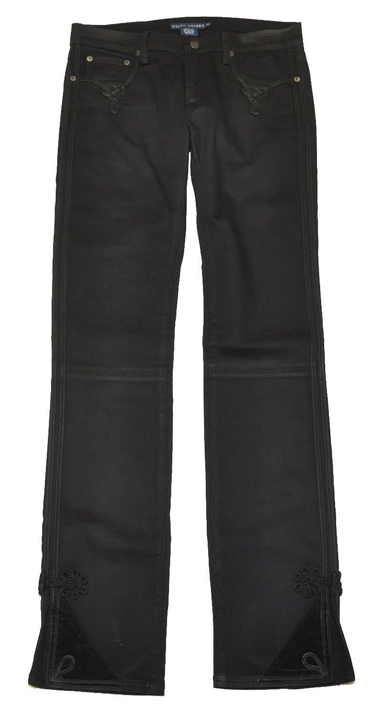 Ralph Lauren Womens Tuxedo Jean Black 31