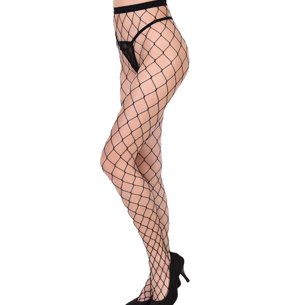 ENJOYNIGHT 3 Pairs Women's Hollow Out Fishnet Pantyhose Hight Tights (Type3)