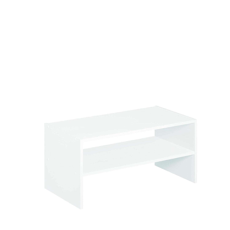 ClosetMaid 8993 Stackable 24-Inch Wide Horizontal Organizer, White