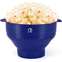 My Pick ae Microwave Popcorn Popper | Silicone Popcorn Maker | Collapsible Popcorn Bowl | Popcorn Machine Maker | BPA…