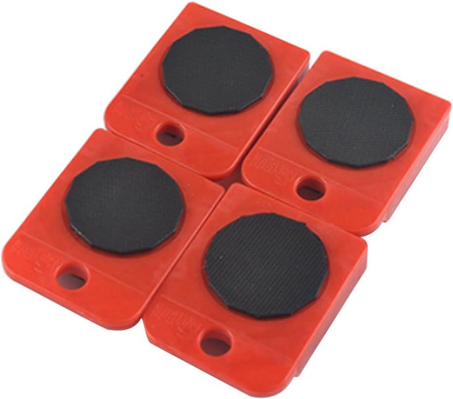Vxhohdoxs Lot de 4 roulettes de transport pour meubles
