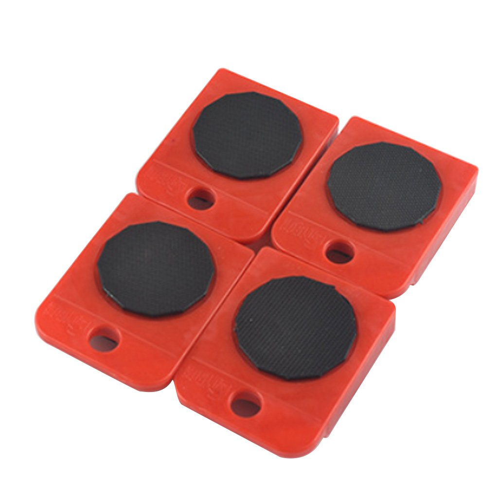 MENTIN Kit de desplazamiento de muebles,/ //l/ève puerta, pouvant soulever 200/kg y 4/ruedas y palanca para mover los muebles f/ácilmente /Elevamuebles