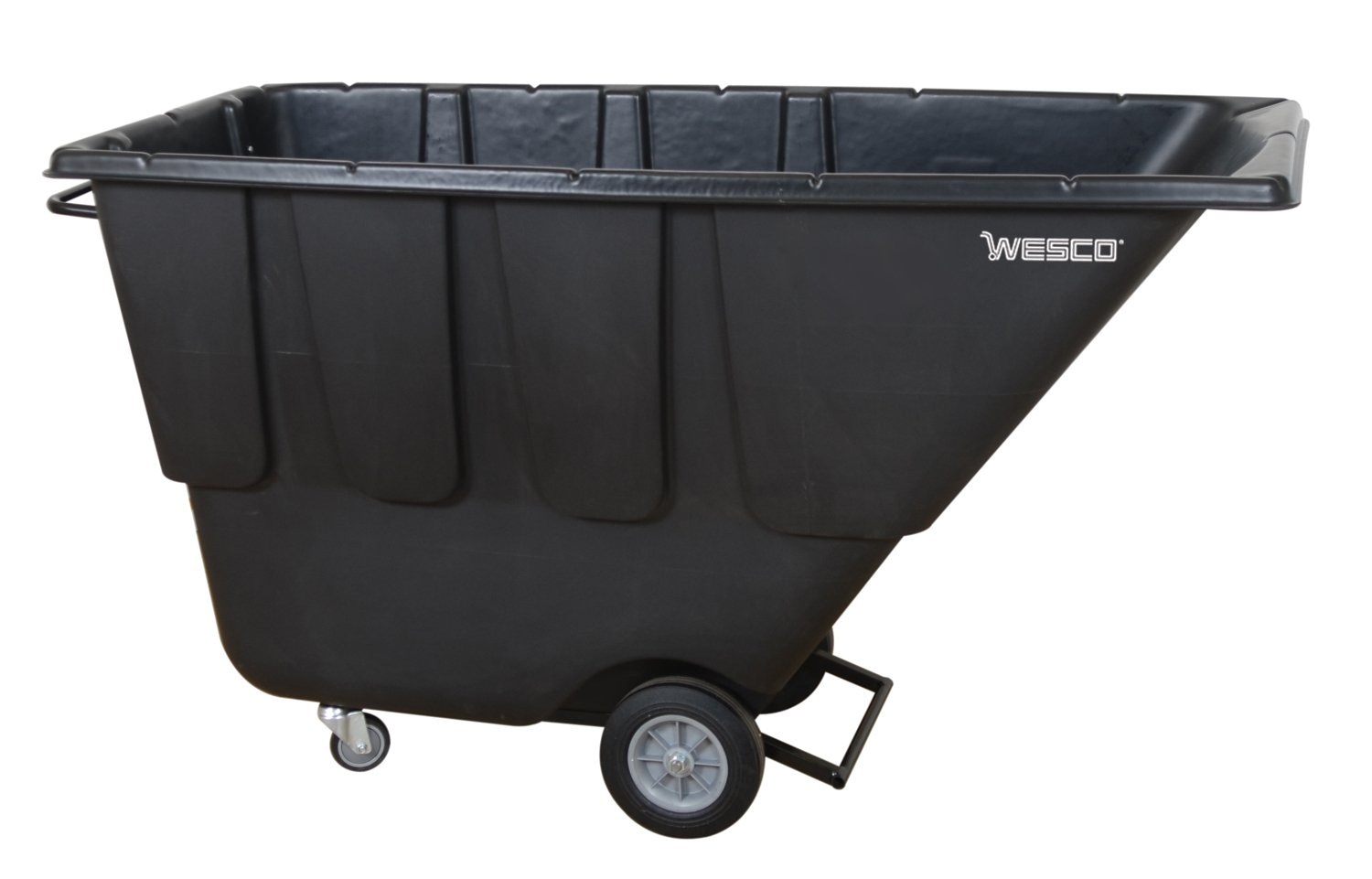 Wesco Industrial Products 272581 Tilt Cart, Utility Duty, 1 cubic yard, 72.5'' Length, 43'' Height, 29.25'' Width