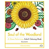 Soul of the Woodland: A Stress Relieving Adult Coloring Book, Celebration Edition