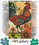 Rooster 500 Piece Puzzle by Mega Brands
