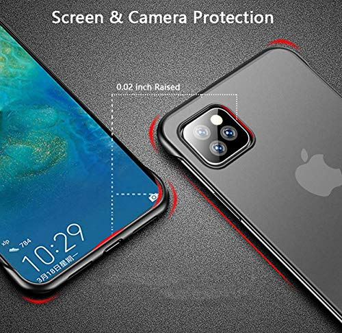 Shock Proof Ultra Slim | Bumper Hard Back Case Cover for Samsung Galaxy M30s / M21-Matte Black