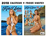 KATE UPTON 2018 CALENDAR + KATE UPTON FRIDGE MAGNET